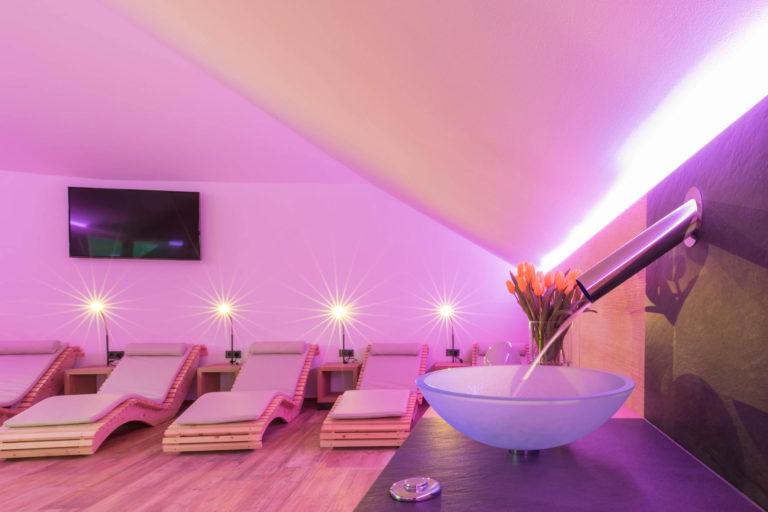 Spa Area Wellness Glorenza Sky Lounge
