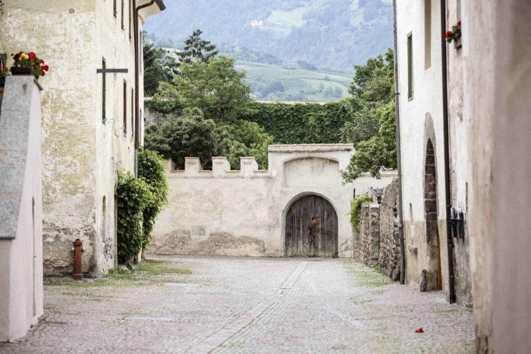 Glorenza medieval town