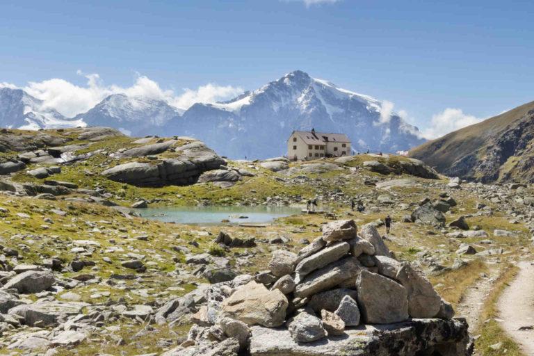 Hiking Venosta Valley Stelvio Ortles